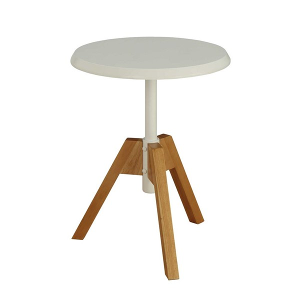 Acme Furniture Lumina White End Table ACM-80339