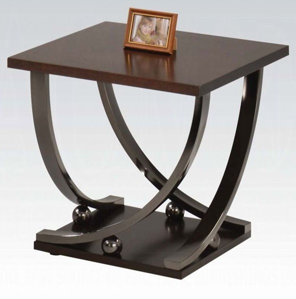 Acme Furniture Isiah Cherry End Table ACM-80357