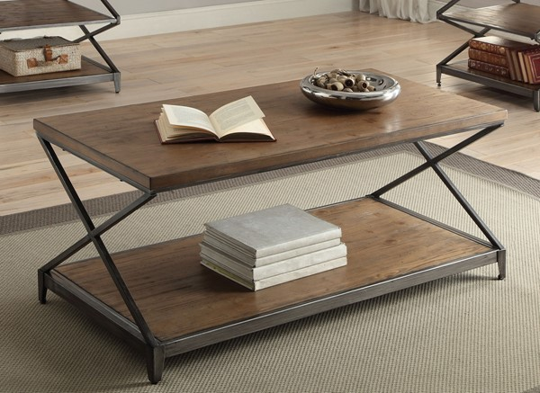 Acme Furniture Fabio Oak Coffee Table ACM-80445