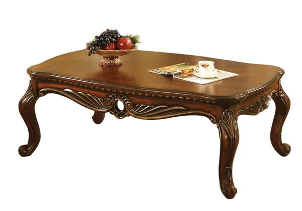 Dorothea Classic Cherry Wood Coffee Table ACM-80590