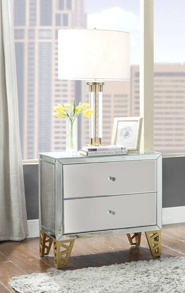 Acme Furniture Stephen Gold End Table ACM-80612