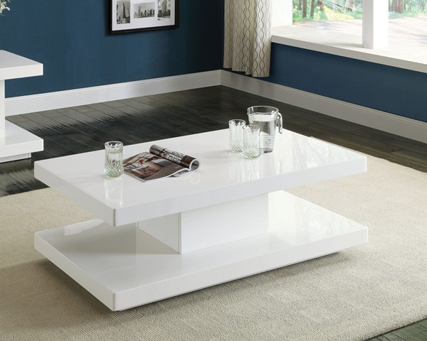 Acme Furniture Imena White Coffee Table ACM-80728