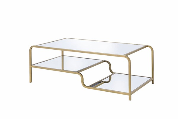 Acme Furniture Astrid Gold Coffee Table ACM-81090
