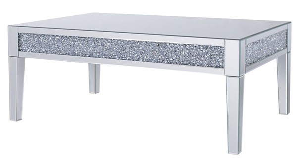 Acme Furniture Noralie Clear Glass Coffee Table ACM-81415