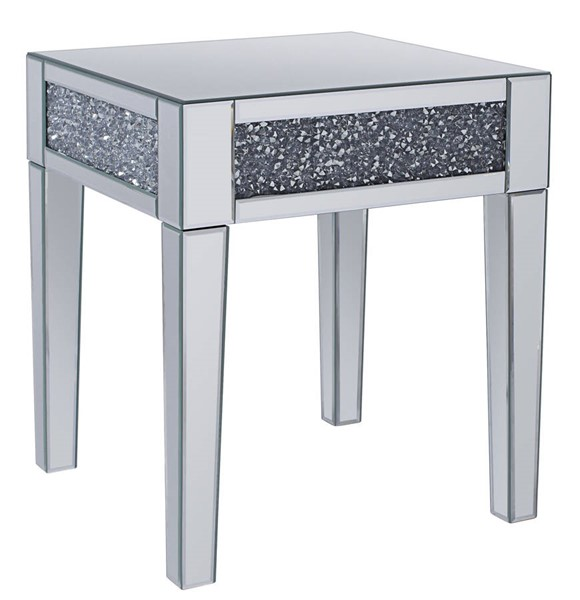 Acme Furniture Noralie Clear Glass End Table ACM-81417