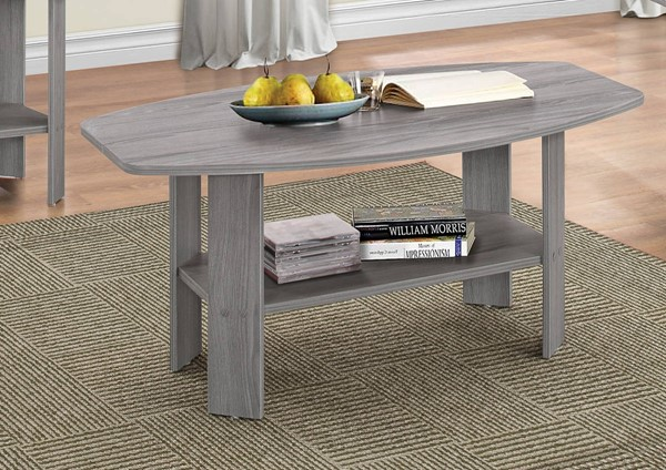 Sadiya Gray Oak PU Paper Coffee Table ACM-81430
