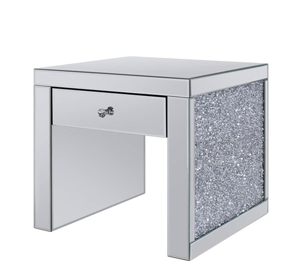 Acme Furniture Noralie Clear End Table ACM-81477