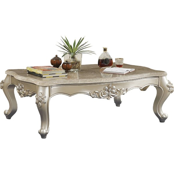 Acme Furniture Bently Champagne Coffee Table ACM-81665