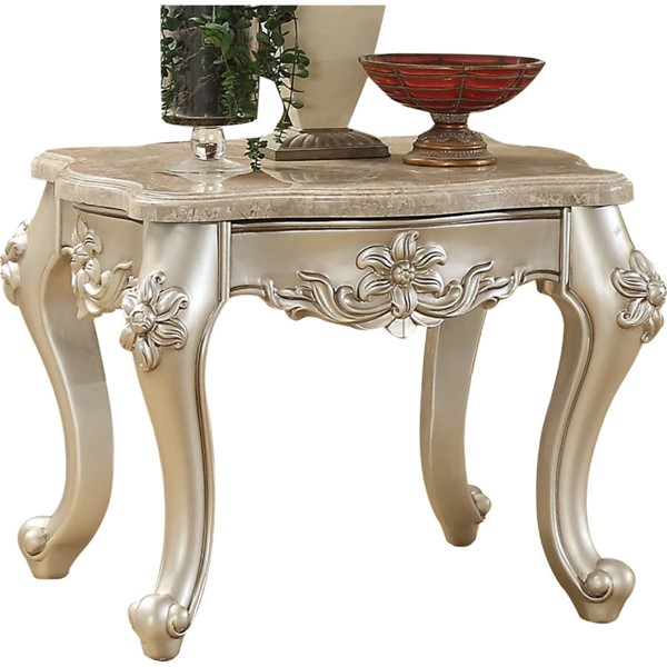 Acme Furniture Bently Champagne End Table ACM-81667