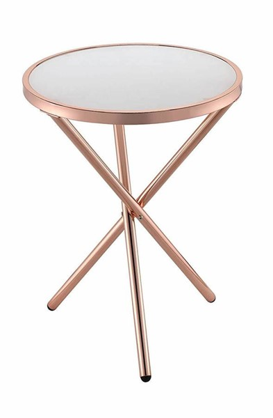 Acme Furniture Lajita Frosted Side Table ACM-81816