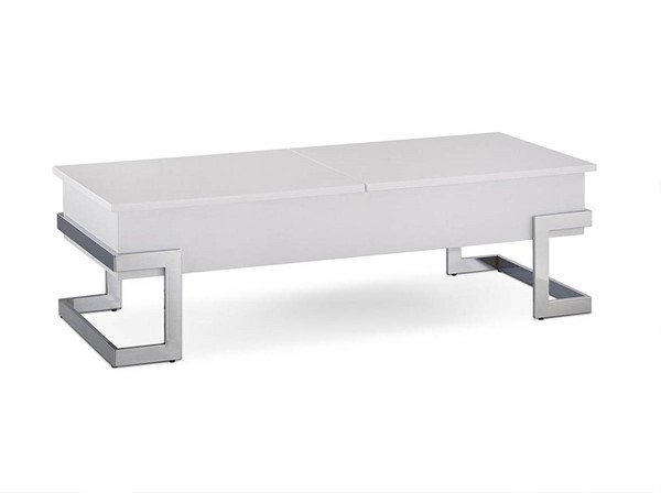 Acme Furniture Calnan White Lift Top Coffee Table ACM-81850