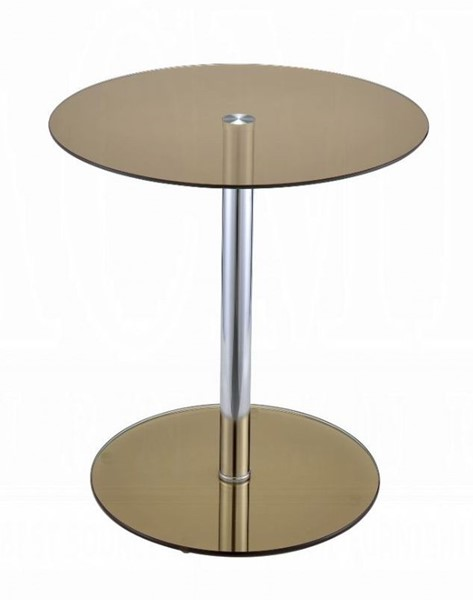 Acme Furniture Halley Smoky End Table ACM-81940