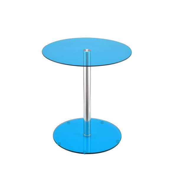 Acme Furniture Halley Blue End Table ACM-81942