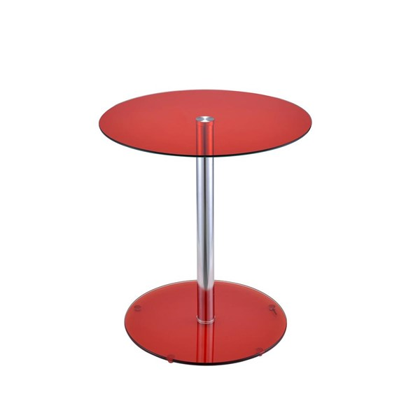Acme Furniture Halley Red End Table ACM-81946