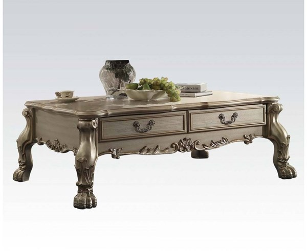 Dresden Traditional Gold Wood Coffee Table ACM-82090