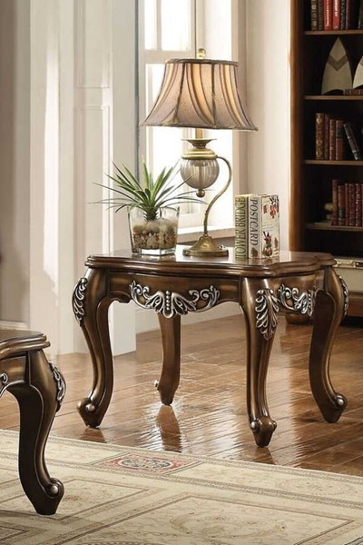 Acme Furniture Latisha Antique Oak Square End Table ACM-82117