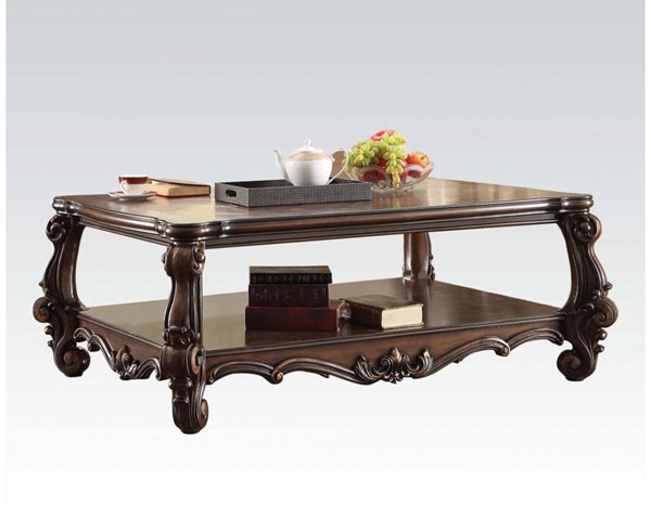 Versailles Traditional Cherry Oak Wood Coffee Table ACM-82120