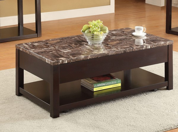 Acme Furniture Dusty Espresso Lift Top Coffee Table ACM-82127