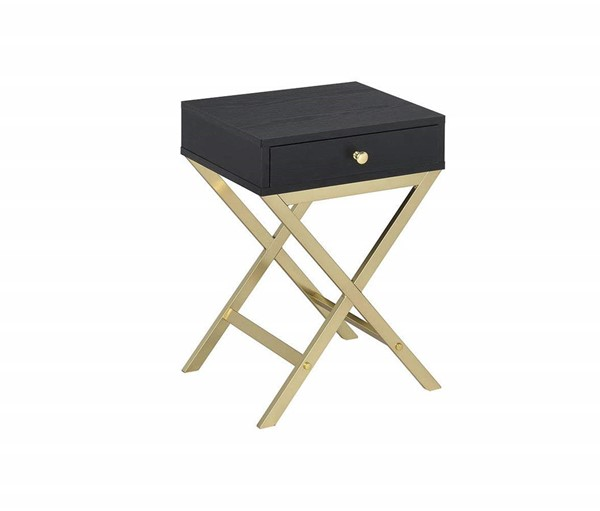 Acme Furniture Coleen Black Side Table ACM-82296