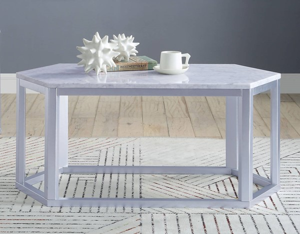 Acme Furniture Reon Silver Coffee Table ACM-82455