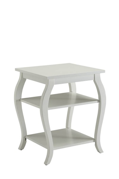 Acme Furniture Becci White End Table ACM-82828