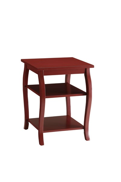 Acme Furniture Becci Red End Table ACM-82834