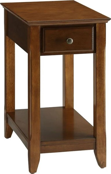Acme Furniture Bertie Walnut Side Table ACM-82836