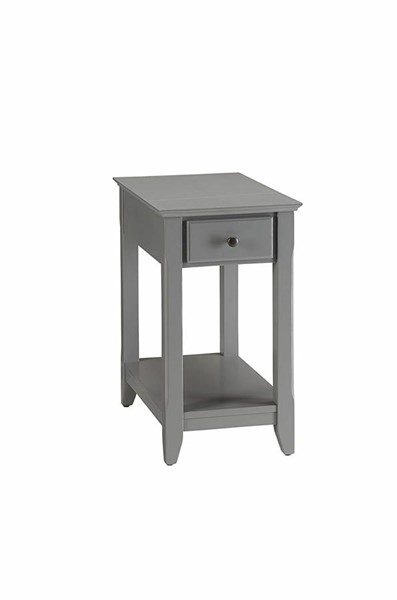 Acme Furniture Bertie Gray Side Table ACM-82838