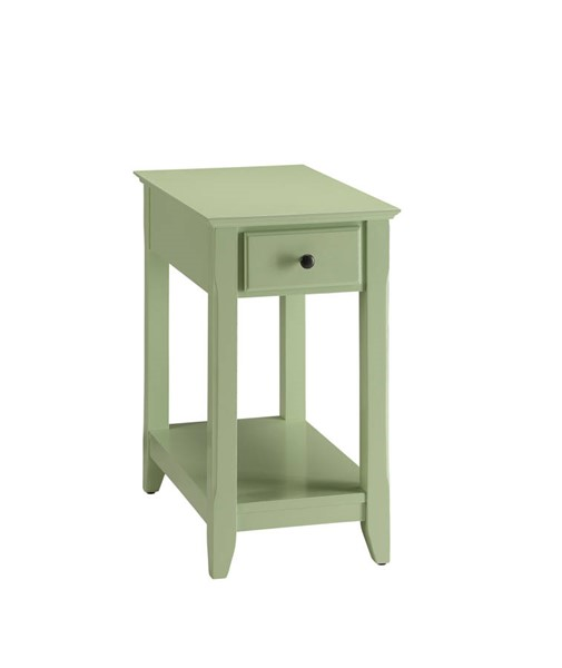 Acme Furniture Bertie Light Green Side Table ACM-82840