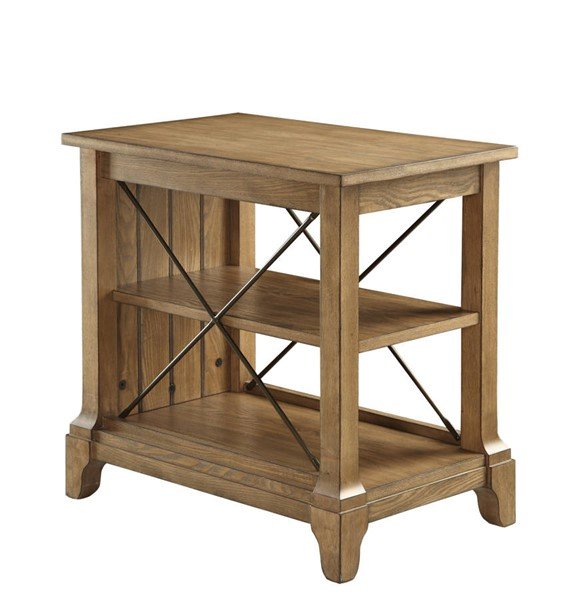 Acme Furniture Hiroko Oak Side Table ACM-82909