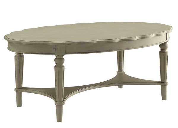 Acme Furniture Fordon Antique Slate Coffee Table ACM-82915