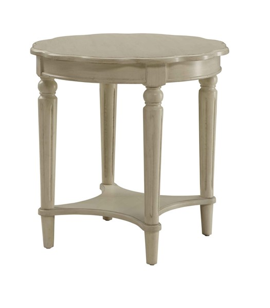 Acme Furniture Fordon Antique White End Table ACM-82922
