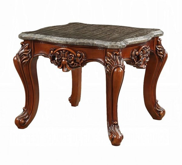 Acme Furniture Eustoma Walnut End Table ACM-83067
