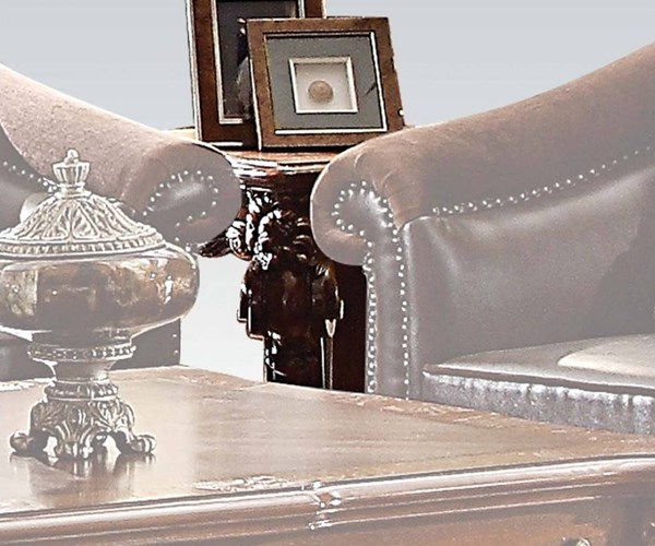Vendome II Traditional Cherry Wood MDF End Table ACM-83131