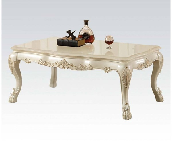 Acme Furniture Dresden Antique White Coffee Table ACM-83260
