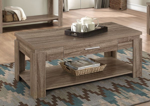 Acme Furniture Xanti Dark Taupe Coffee Table ACM-83285
