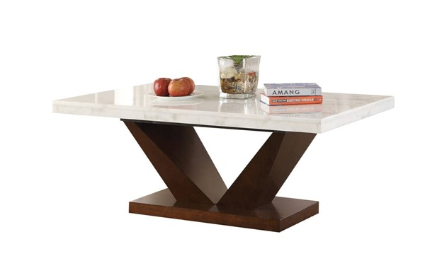 Acme Furniture Forbes White Coffee Table ACM-83335