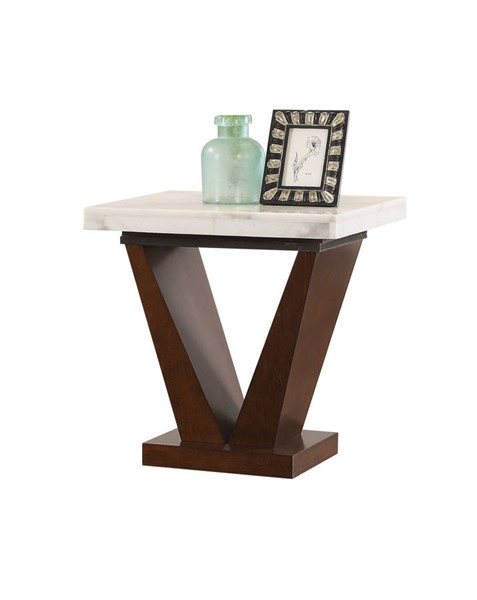 Acme Furniture Forbes White End Table ACM-83337