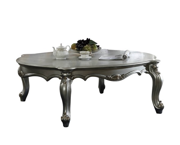 Acme Furniture Picardy Antique Platinum Coffee Table ACM-83465