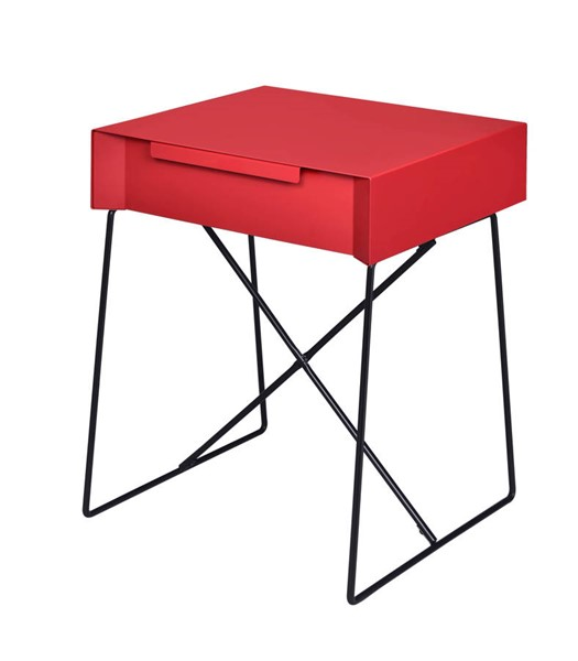 Acme Furniture Gualacao Red End Table ACM-84457