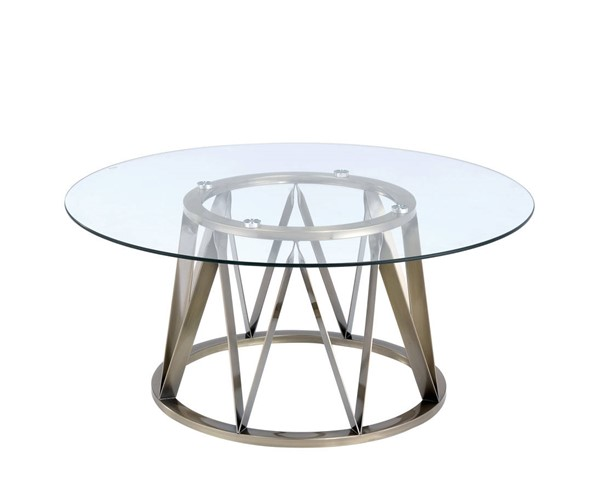 Acme Furniture Perjan Antique Clear Coffee Table ACM-84485