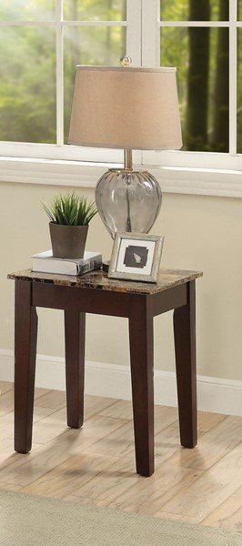 Acme Furniture Finelly II Light Brown End Table ACM-84557