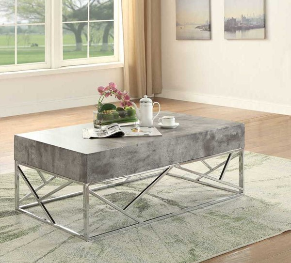 Acme Furniture Burgo Faux Marble Coffee Table ACM-84575