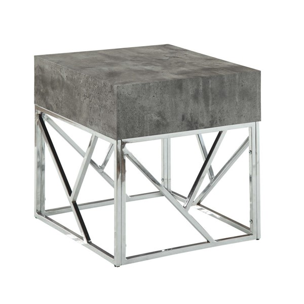 Acme Furniture Burgo Chrome End Table ACM-84577