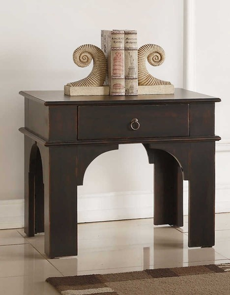 Acme Furniture Elvira Antique Espresso End Table ACM-84587