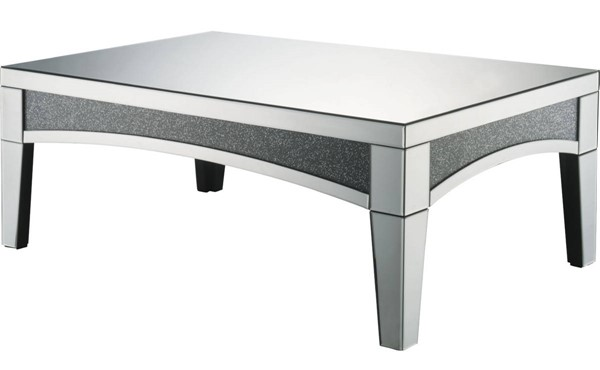 Acme Furniture Nowles Clear Coffee Table ACM-84675