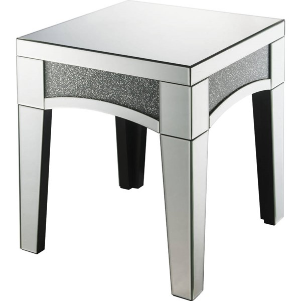 Acme Furniture Nowles Clear End Table ACM-84677