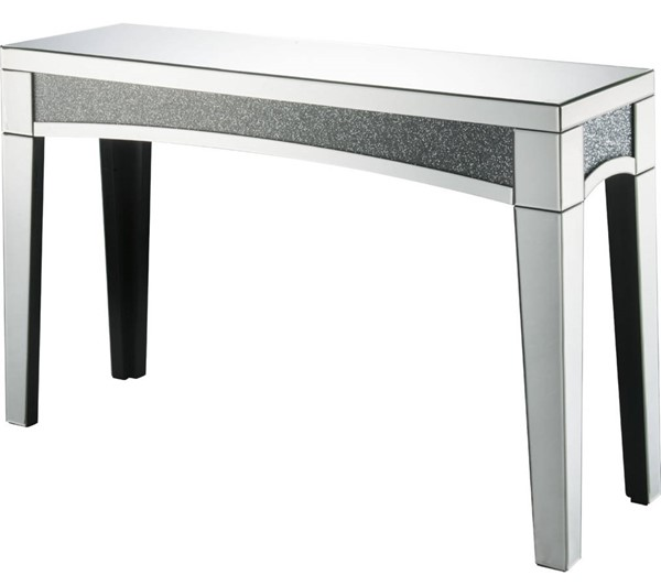 Acme Furniture Nowles Clear Console Table ACM-84678