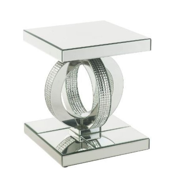 Acme Furniture Ornat Mirror End Table ACM-84742