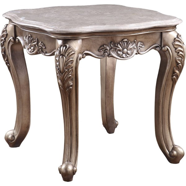 Acme Furniture Jayceon Champagne End Table ACM-84867
